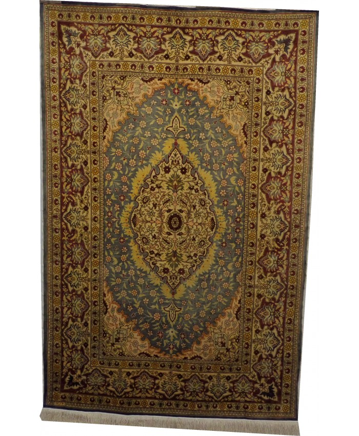 Handmade Turkish Hereke Original Silk Carpet - FREE SHIPPING..!